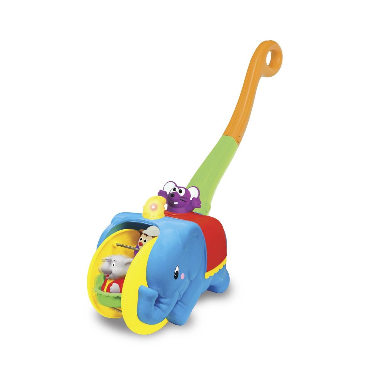 Игрушка-каталка - Слон-Циркач