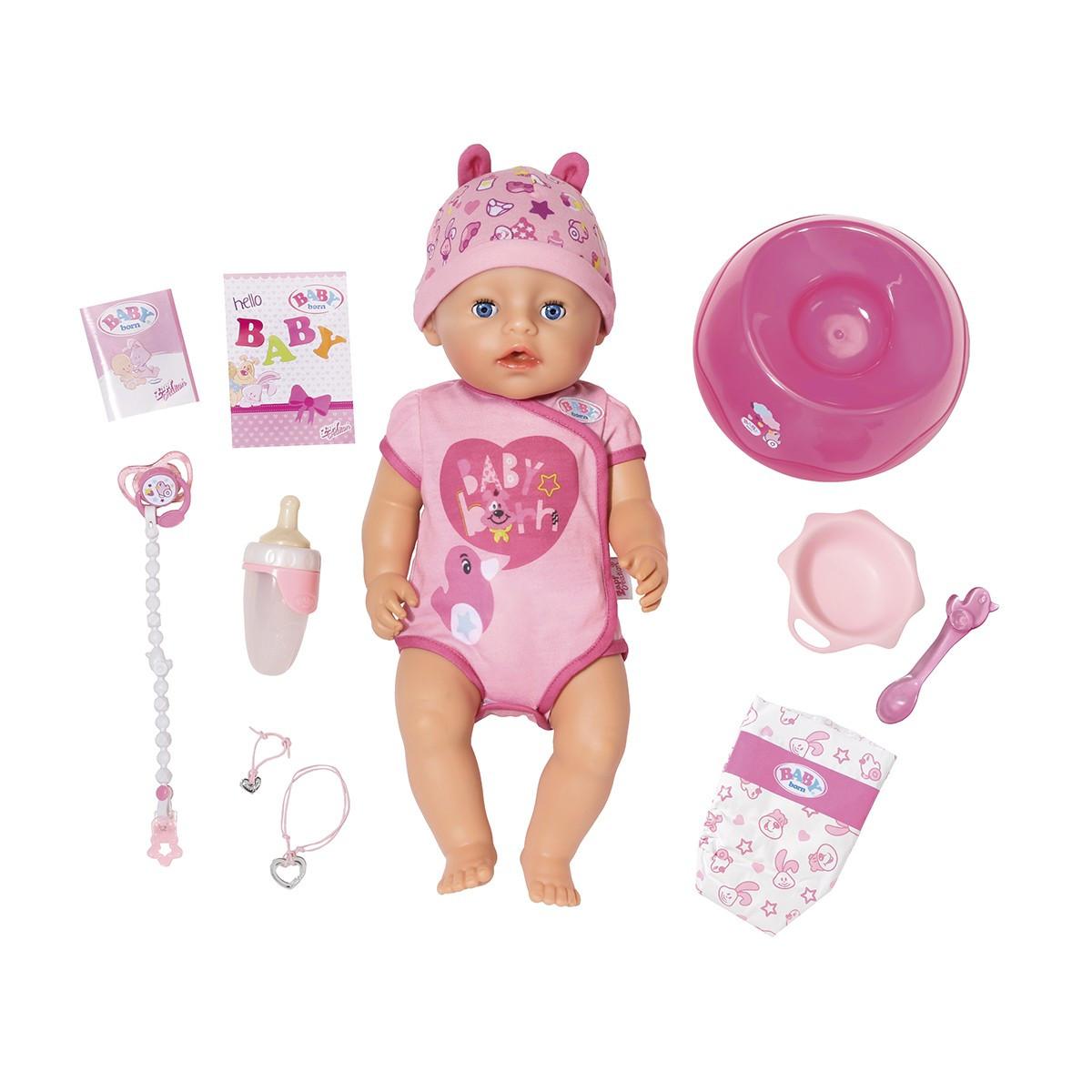 """Кукла Baby Born серии """"Нежные объятия - Очаровательная Малышка"""""""