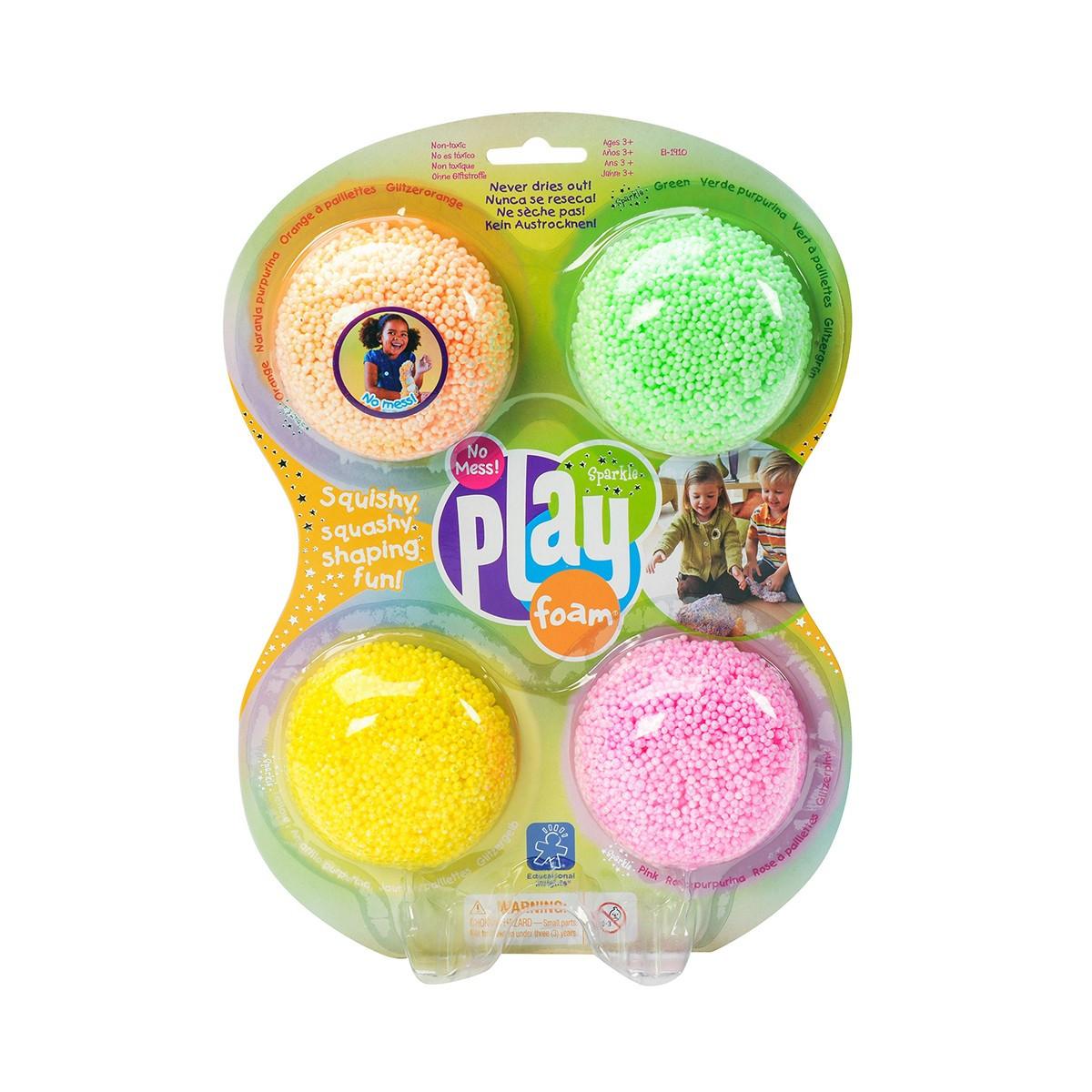 Набор шарикового пластилина Educational Insights - Блестки