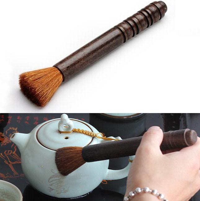 Черное дерево чай горшок перо чай горшок сохранить ручка кунг чайный поднос Teaware acessaries 1TopShop