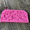 3DфутболистСиликоновыйFondantMoldCake Decorating Chocolate Sugarcraft Пресс-формы для выпечки 1TopShop, фото 5
