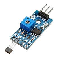 5pcs 5V/3.3V Зал для измерения скорости Датчик Переключатель модульного зала Мотор Модуль тахометра для DIY 1TopShop, фото 2