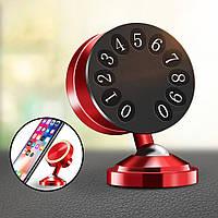 НомерпарковкиRaxflyПластинаМощныймагнитный люминесцентный Авто Держатель приборной панели для мобильного телефона - 1TopShop