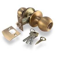 Ручка-защелка Апекс 6072-01 АN (ключ)