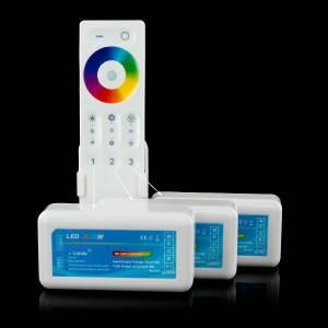 Пульт д/у для управления RGB лентой C-REM-2.4g-Touch-3 zone, фото 2