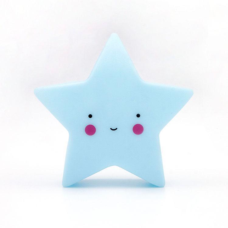 Star Led Night Light Домашний декор Baby Sleeping Bedroom Лампа 1TopShop