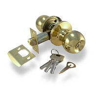 Ручка-защелка Апекс 6072-01G (ключ)