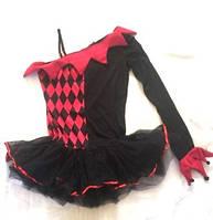 Карнавальный костюм женский  Арлекин Размер S-M