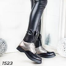 Ботинки зимние кожаные, фото 2