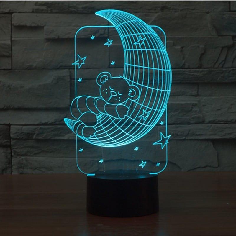3D светильник 3D Lamp Месяц (LP-1246)