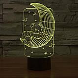 3D светильник 3D Lamp Месяц (LP-1246), фото 3