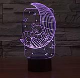 3D светильник 3D Lamp Месяц (LP-1246), фото 4