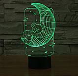 3D светильник 3D Lamp Месяц (LP-1246), фото 7