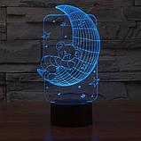 3D светильник 3D Lamp Месяц (LP-1246), фото 8