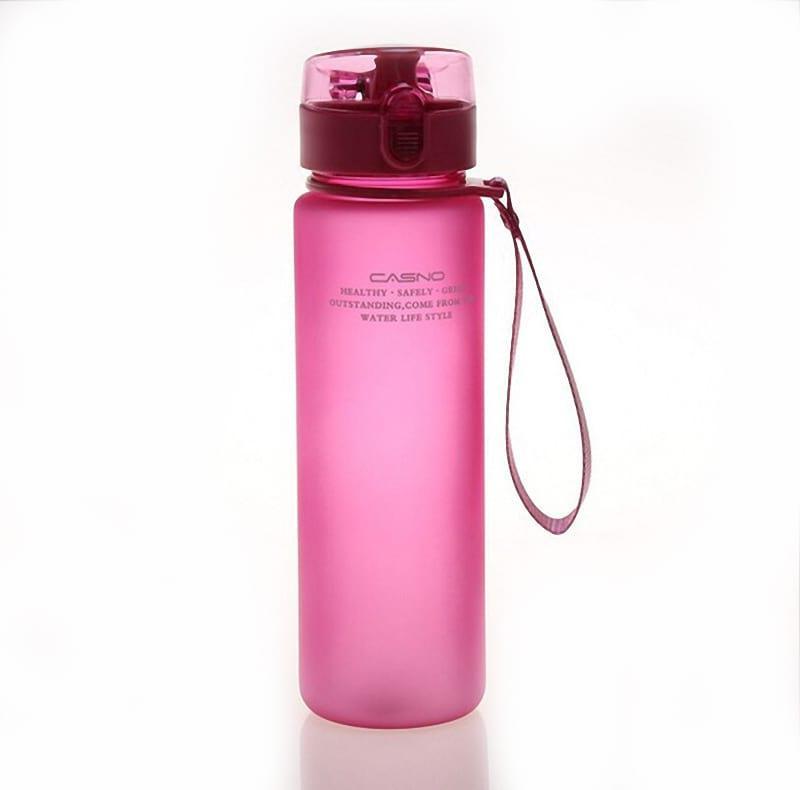 Бутылка для воды Casno 500 розовая (WB-741)