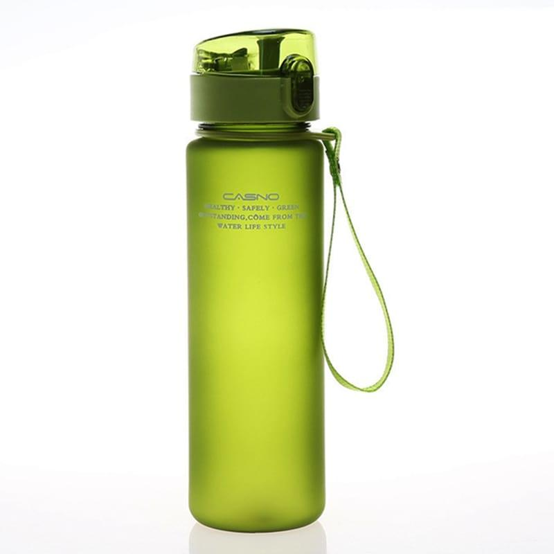 Бутылка для воды Casno 500 зеленая (WB-734)