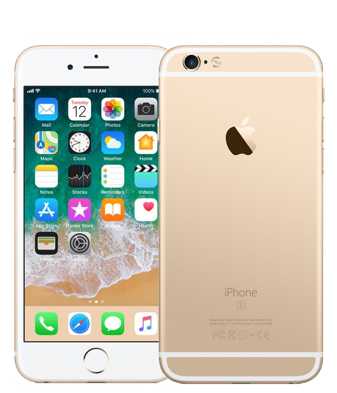 Apple iPhone 6s 32Gb Gold (MN112)