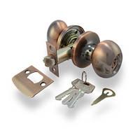 Ручка-защелка Апекс 6093-01AС (ключ)