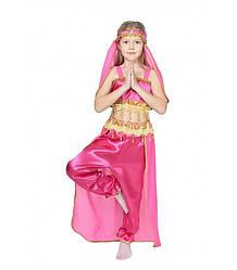 Карнавальный костюм ВОСТОЧНАЯ КРАСАВИЦА ЖАСМИН для девочки 8,9 лет, костюм для ВОСТОЧНЫХ ТАНЦЕВ