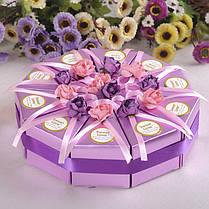 10шт творческий торт конфеты коробка свадебные коробки партия торт шоколадный подарок 1TopShop, фото 3