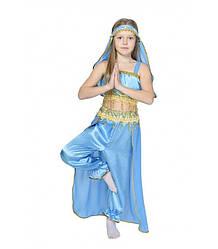 Карнавальный костюм ВОСТОЧНАЯ КРАСАВИЦА ЖАСМИН для девочки 8,9 лет детский ВОСТОЧНЫЙ костюм для танцев