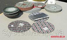 Круг шліфувальний пресований 152,0x18,0х6,3 мм Р240 жорсткий для нержавіючої сталі, фото 3