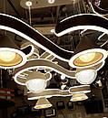 Светодиодная LED люстра потолочная 3023/2  WH, фото 4
