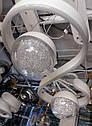 Светодиодная LED люстра потолочная 3023/2  WH, фото 2