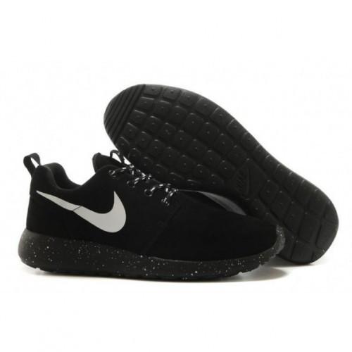 9ebef689 Мужские кроссовки Nike Roshe Run черные космос замша - SHOES-INTIME в  Харькове