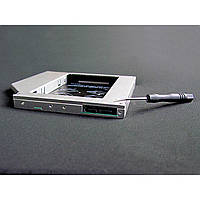 """Шасси для ноутбука Grand-X подключения HDD 2.5"""" в отсек привода ноутбука, SATA3 ODD  (HDC-24) 9,5mm"""