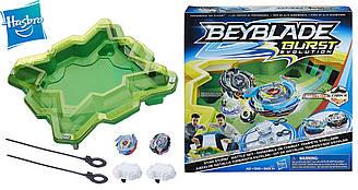 Beyblade Арена и 2 волчка оригинал от Hasbro Burst Evolution Star Storm