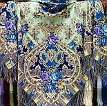 Таинственный образ 1782-61, павлопосадский платок шерстяной с шелковой бахромой, фото 4