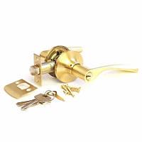 Ручка-защелка Апекс 8023-01 GM (ключ)