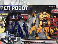 Набор роботов трансформеров 8-19