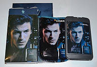 Стильные мужские духи в планшете Chanel Blue De Chanel