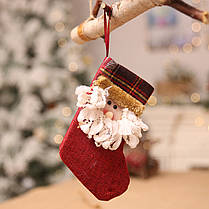РождественскийчулокМининосокСанта-Клаусаконфеты подарок Сумка Дерево висит декор 1TopShop, фото 2