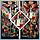 Жилетка женская Турция цветная тёплая стильная яркая модная  новинка с капюшоном , фото 5