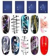 Паутинка цветная для дизайна ногтей, фото 1