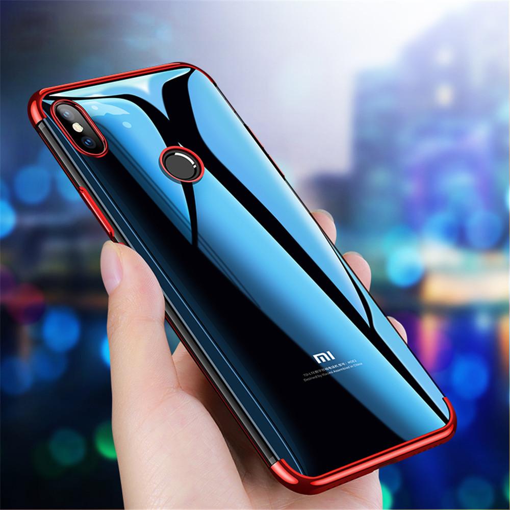 BakeeyПлакировкаSoftЗащитнаякрышкаТПУ Защитная Чехол для Xiaomi Redmi Примечание 6 Pro 1TopShop