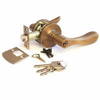 Ручка-защелка Апекс 891-01 АN (ключ)