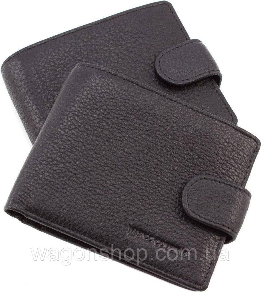 19afb474a70e Мужское классическое портмоне на кнопке Marco Coverna - Интернет - магазин