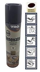 Краска бордовая для замши и нубука TRG Renovator 250ml #111