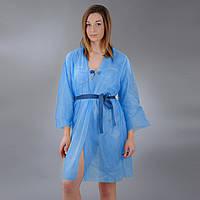 Халат кимоно mini с поясом Doily, размер L/XL, XXL, 1 шт. из спанбонда