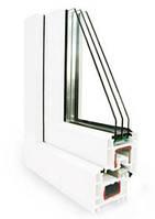 Окна и двери из профилей системы REHAU Euro 70.