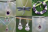 Полудрагоценные камни в серебряных украшениях – гарантия создания эффектного образа