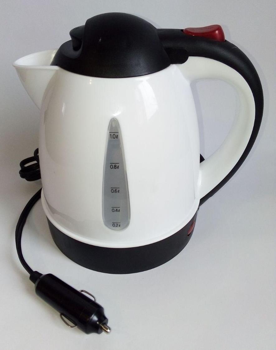 Автомобильный электрочайник чайник 24 вольт автомобильный от прикуривателя