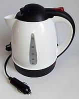 Автомобильный электрочайник чайник 24 вольт автомобильный от прикуривателя, фото 1