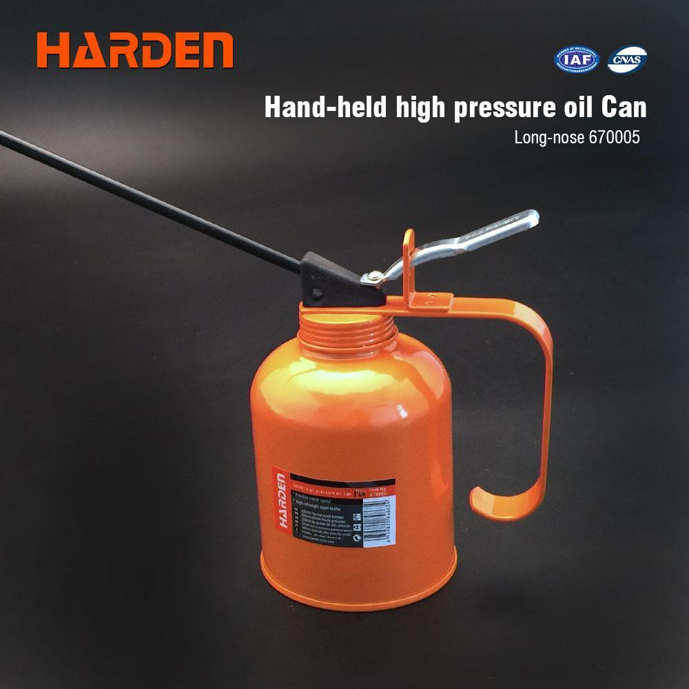 Масленка металлическая 500 мл профи Harden Tools 670005