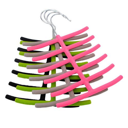 1x шарфы галстук вешалка для одежды шкаф нескользящий держатель 1TopShop