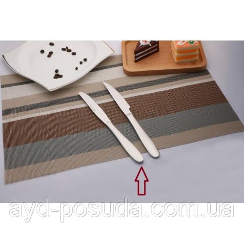 """Ніж столовий """"Premium"""" AYD (нержавіюча сталь 18/10, 3 шт. в упаковці), арт. 3120114"""